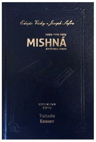 Mishná em hebraico e português - Ordem NEZIKIN - Tratado Eduiot