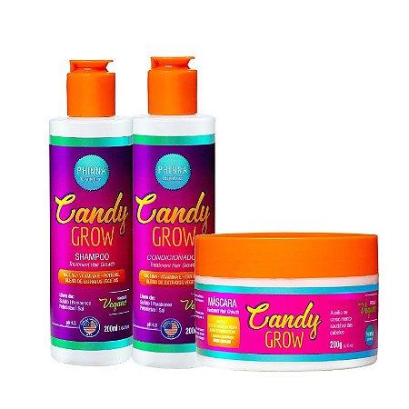 Kit Crescimento Candy Grow (Shampoo + Condicionador + Máscara)