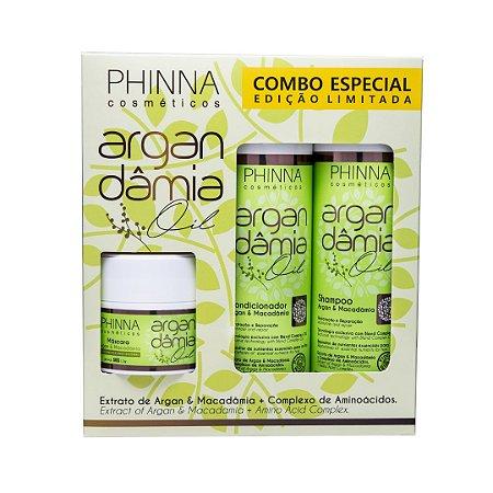Kit Argan Dâmia Oil (Shampoo + Condicionador) - BRINDE Mini Máscara