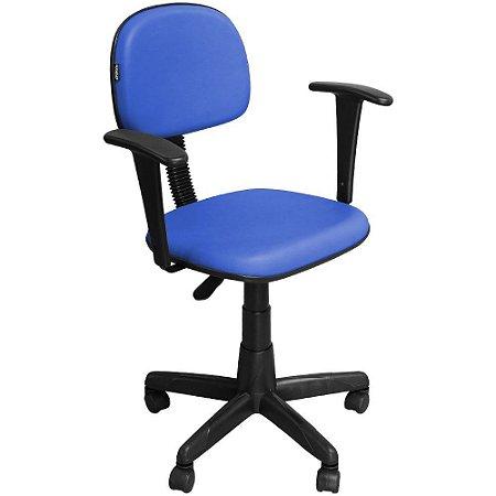 Cadeira Escritório Secretária Giratória com Braço e com Regulagem de Altura CS03 - Pethiflex