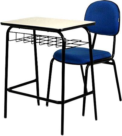 Conjunto Universitário e Escolar Carteira com Cadeira - Pethiflex