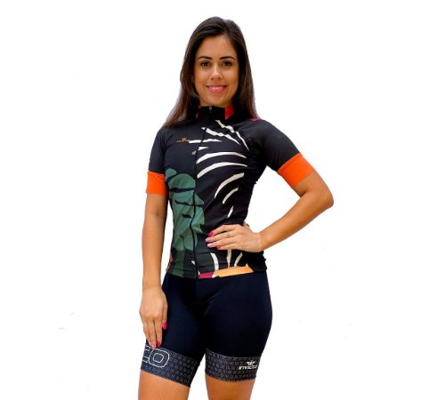 CAMISA ELITE FEMINA TROPICAL MANGA CURTA