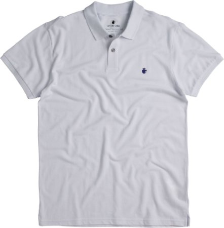 POLO BASIS PIQUET / BRANCO