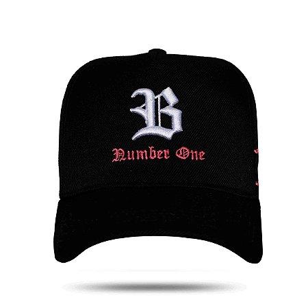 BONÉ SNAPBACK BASIC NUMBER ONE BLACK