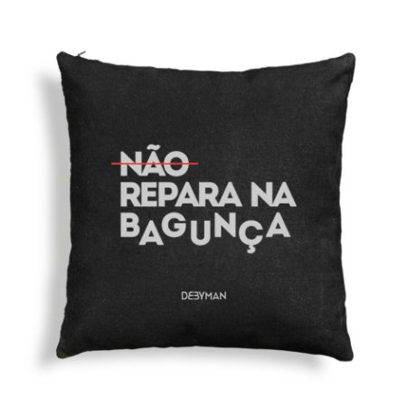 ALMOFADA BAGUNÇA