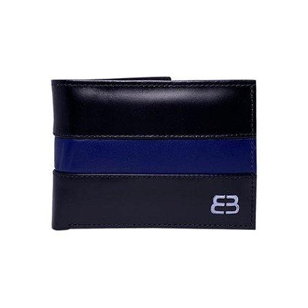 CARTEIRA BANNER DEBYMAN BLACK / BLUE