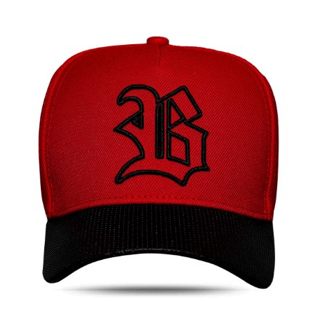 BONÉ SNAPBACK ABA PERFORED RED