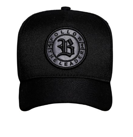 BONÉ SNAPBACK BASIC FOLLOW ALL BLACK