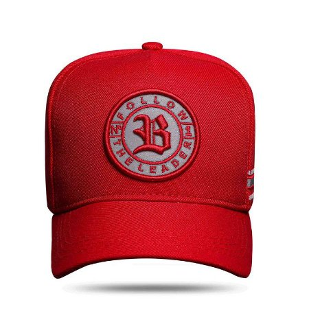 BONÉ SNAPBACK FALLOW PERFECT RED