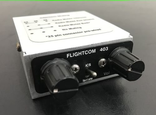 INTERCOM - 403 MC - FLIGHTCOM