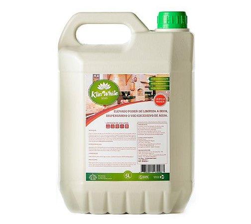 KLIN WHITE MAX - Elevado Poder de Limpeza a seco Dispensando o uso Excessivo de Água 5L