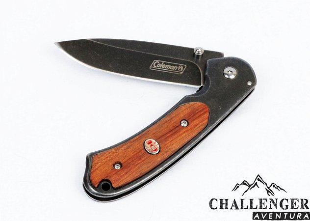 Canivete Coleman Greystone Folder