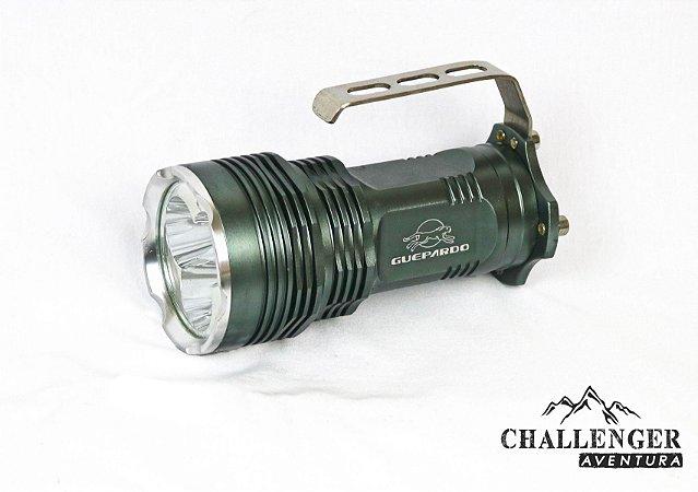 Lanterna Guepardo Tático Recarregável T6