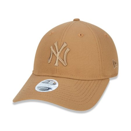 Boné New Era Feminino 9Twenty MLB New York Yankees Kaki