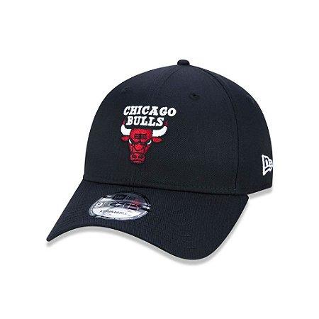 Boné New Era 9Forty NBA Chicago Bulls Preto