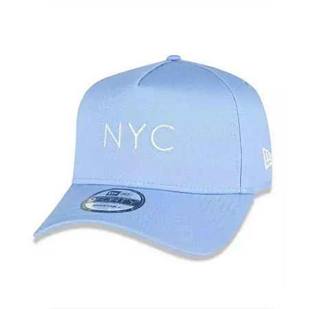 Boné New Era 9Forty A-Frame Core Candys New York City NYC Azul bb
