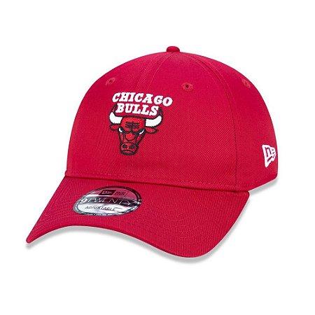Boné New Era 9Twenty NBA Chicago Bulls Sport Vermelho