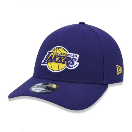 Boné New Era 9Forty NBA Los Angeles Lakers Roxo