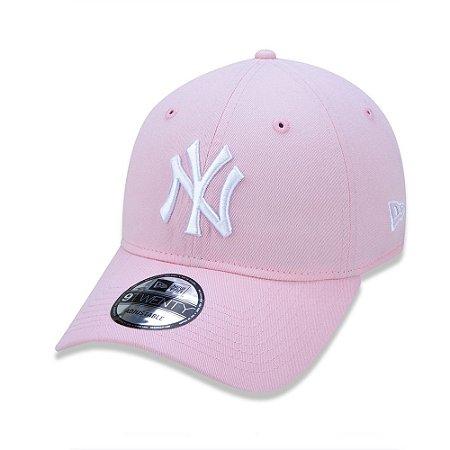 Boné New Era 9Twenty New York Yankees MLB Rosa