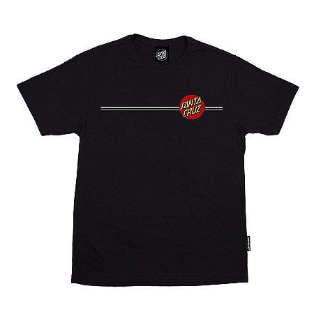 Camiseta Santa Cruz Classic Dot Preto