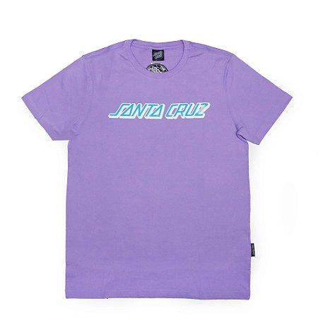 Camiseta Santa Cruz Classic Strip Lilás