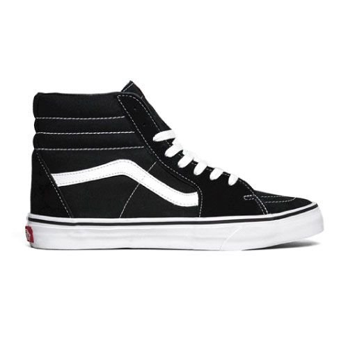 Tênis Vans Sk8-Hi Black/White