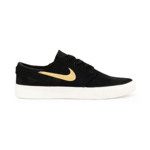 Tênis Nike SB Zoom Janoski CNVS RM Black/Club Gold