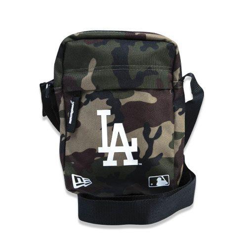 Shoulder Bag New Era MLB Los Angeles Dodgers Camuflada