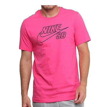 Camiseta Nike SB Logo Pink