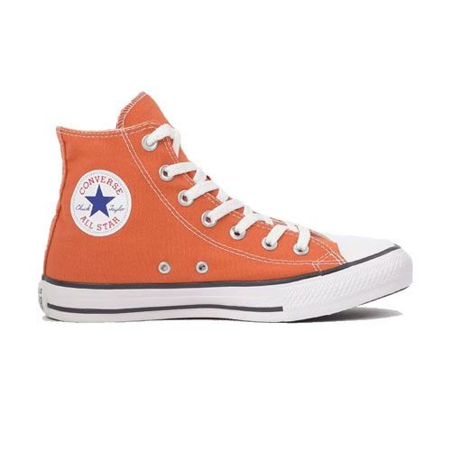 Tênis Converse CT04190038 Chuck Taylor All Star Hi Laranja