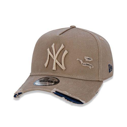 Boné New Era 9Forty A-Frame Destroyed MLB New York Yankees