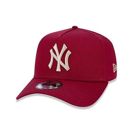 Boné New Era 9Forty A-Frame MLB New York Yankess Bordo