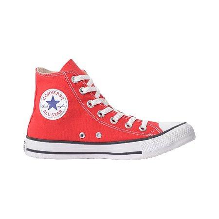 Tênis Converse CT00040004 Chuck Taylor All Star Hi Vermelho