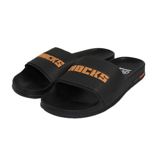 Chinelo Hocks Black/Orange