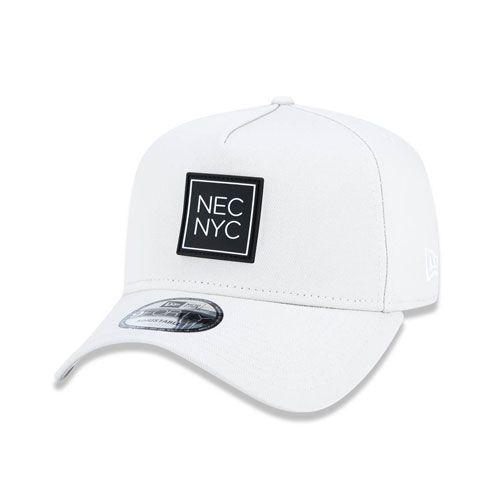 Boné New Era 9Forty A-Frame Nec New York City Off White