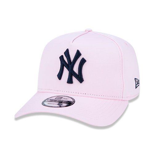 Boné New Era 9Forty A-Frame MLB New York Yankess Rosa