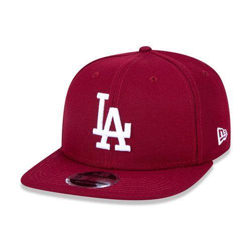 Boné New Era 9Fifty Original Fit MLB Los Angeles Dodgers Bordo