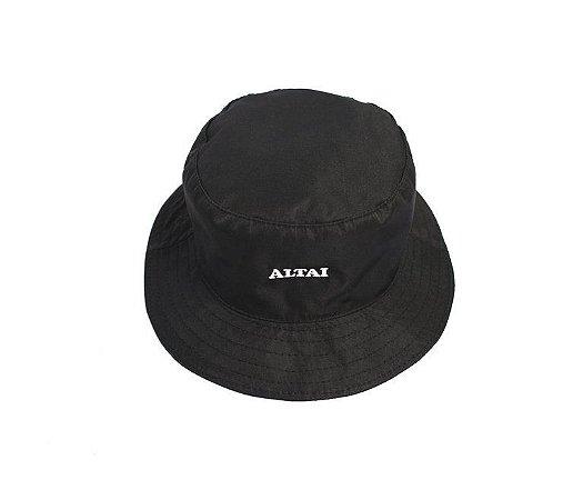 Bucket Altai Hat Logo Preto