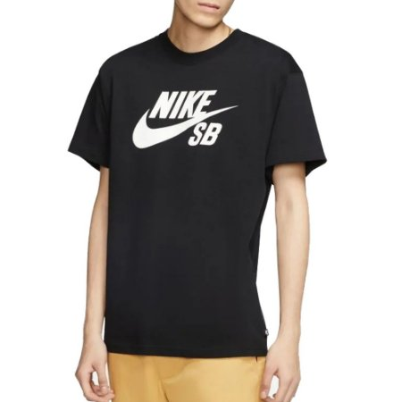 Camiseta Nike SB Clássica Preto