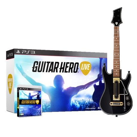GUITAR HERO LIVE (GUITARRA + JOGO PS3)
