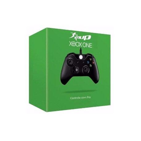 CONTROLE XBOX ONE KANUP COM FIO