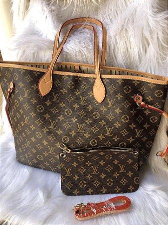 9f845493b Bolsa Louis Vuitton neverfull - monograma - M Importados Loja