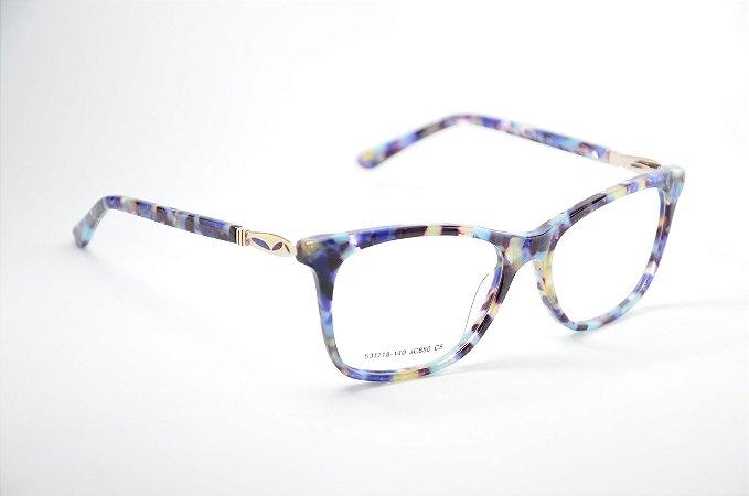 Kit com 10 unidades - Oculos Acetatos Variados - Atacado de Oculos