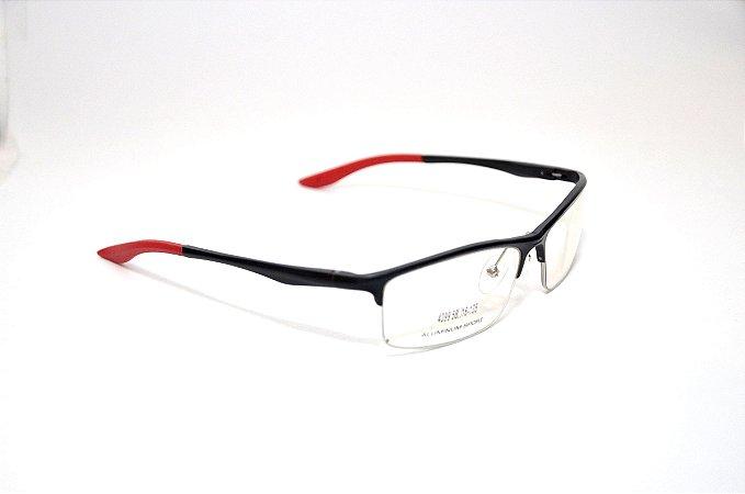 Kit com 10 unidades - Armação Masculina Sport de Aluminium - Óculos Atacado - Revenda Oculos