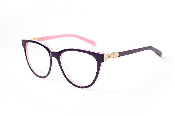 Armação para óculos feminino -  JC833 - Atacado de Óculos - Óculos para óticas