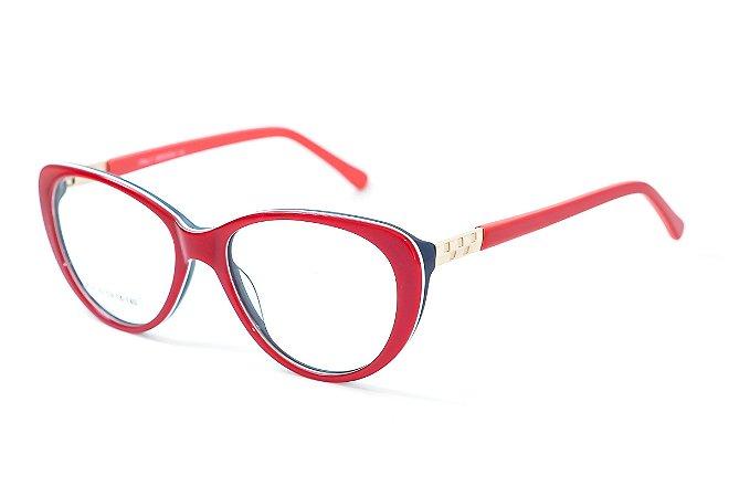 229bf51e6a950 Armação para óculos feminino gatinho vermelho - BC8182 - Atacado de Óculos  - Óculos para óticas
