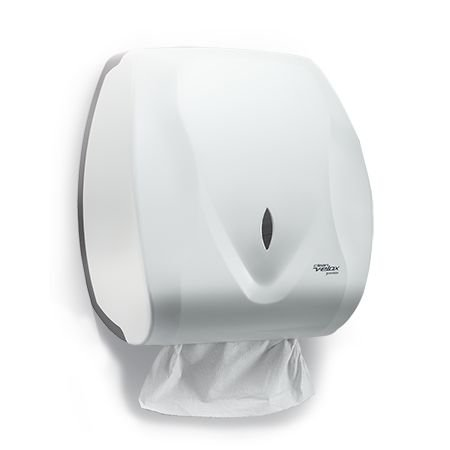 Dispenser para Papel Toalha Interfolhas 2 ou 3 dobras Premisse Velox Dispenser