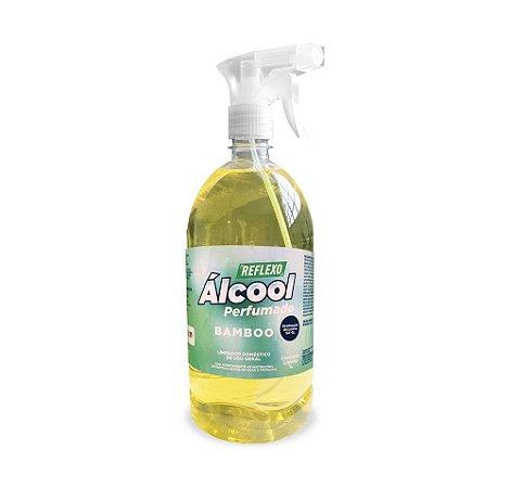 Álcool Líquido Perfumado com gatilho - 1 Litro