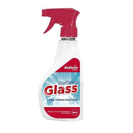 Limpa vidros Reflexo Glass com gatilho - 500ml