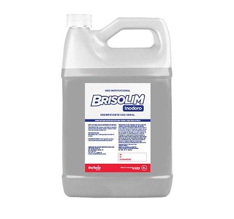 Brisolim Desinfetante Concentrado Inodoro à base de Cloreto de Benzalcônio 5 Litros